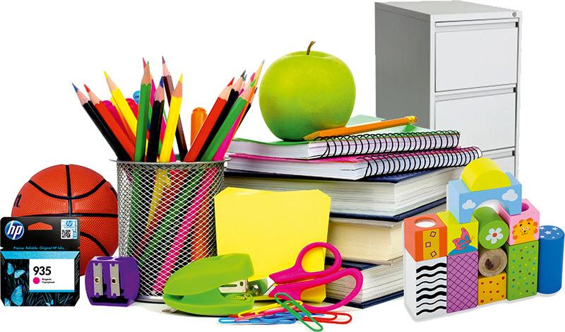 Material de oficia y material escolar